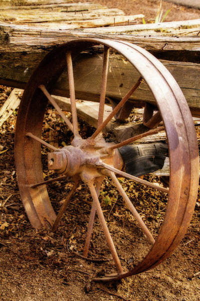 Wagon Wheel Digital Art - Wagon Wheel by Terry Davis