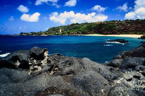 Photograph - Waimea Bay by Thomas R Fletcher