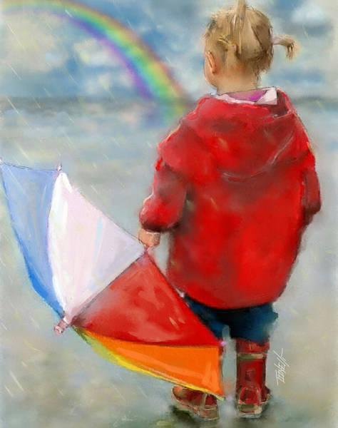 Land Mark Mixed Media - Rainbows Waiting For A Rainbow. by Mark Tonelli