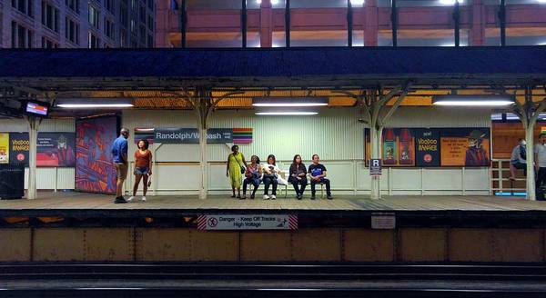Photograph - Waiting For The Train by Rosanne Licciardi