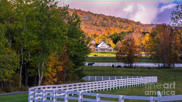 Waitsfield Photograph - Waitsfield Vermont by Scenic Vermont Photography
