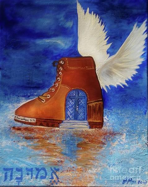 Walk By Faith Art Print