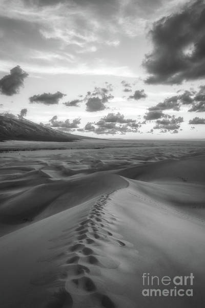 Great Sand Dunes National Park Photograph - Walking On Sand 2 by Michael Ver Sprill