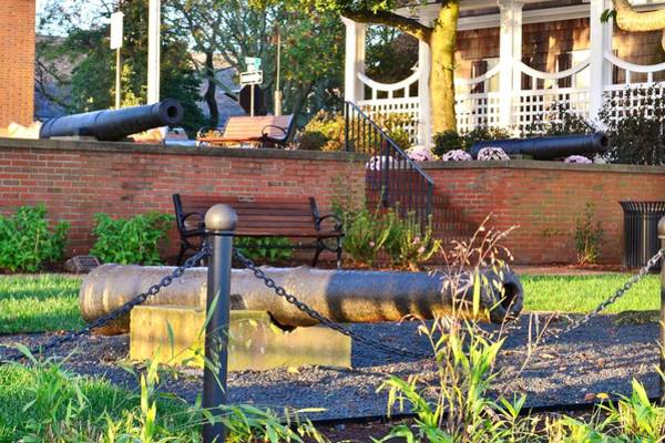 Photograph - War Of 1812 Cannons - Lewes Delaware by Kim Bemis