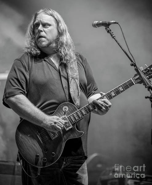 Allman Brothers Band Photograph - Warren Haynes With The Allman Brothers Band by David Oppenheimer