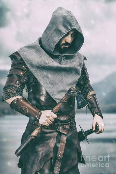 Game Of Thrones Photograph - Warrior by Amanda Elwell