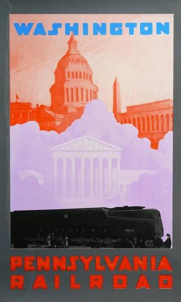 Wall Art - Drawing - Washington Dc by David Studwell