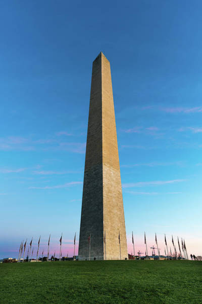 District Wall Art - Photograph - Washington Monument  by Larry Marshall