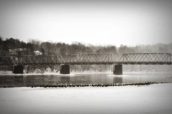 Washington Crossing Photograph - Washingtons Crossing Bridge by Bill Cannon