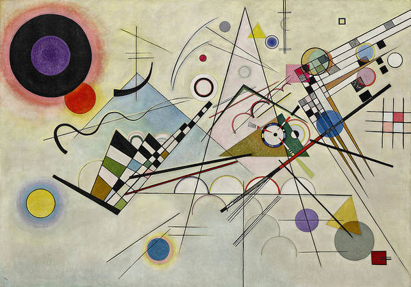 1923 Painting - Circles In A Circle by Wassily Kandinsky