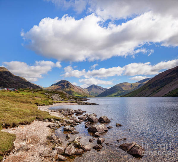 Wast Wall Art - Photograph - Wastwater by Colin and Linda McKie