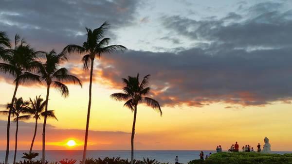 Photograph - Watching The Sunset by Pamela Walton