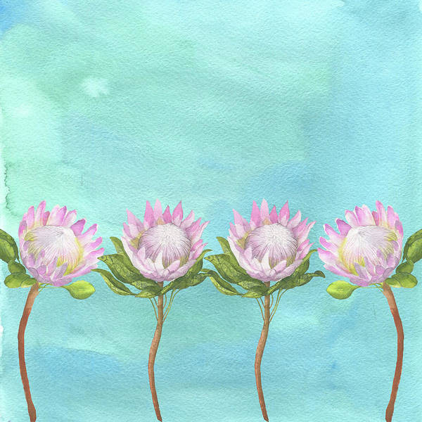 Painting - Water Lily by Maria Heyens
