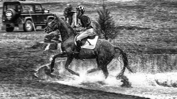 Cross Country Photograph - Water Splash by Nigel Jones