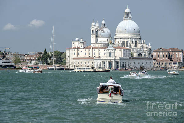 Wall Art - Photograph - Water Taxis  by Rob Hawkins