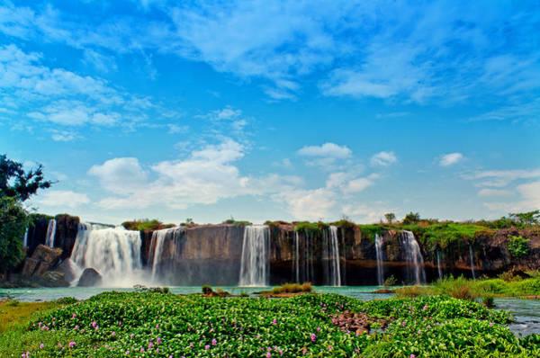 Photograph - waterfalls Draynur by Tran Minh Quan
