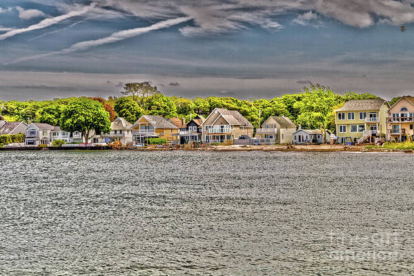 Photograph - Waterfront Living by William Norton