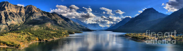 Photograph - Waterton Lakes Afternoon Reflections by Adam Jewell