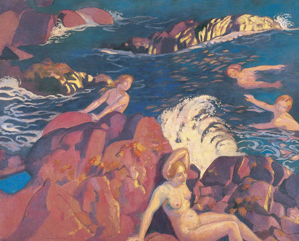 Painting - Wave  by Maurice Denis
