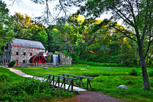 Photograph - Wayside Inn Grist Mill by Toby McGuire
