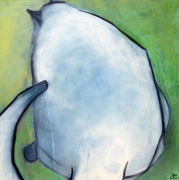 Painting - We Dream In Green 2 by Anna Elkins