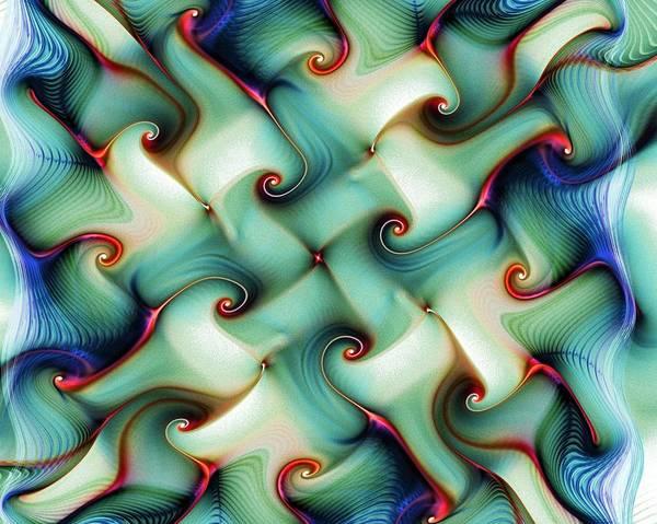 Digital Art - Weave by Amanda Moore