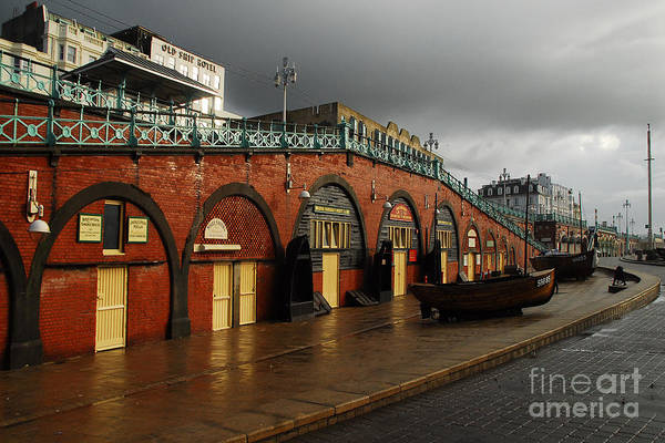 Front Wall Art - Photograph - Welcome To Brighton by Smart Aviation