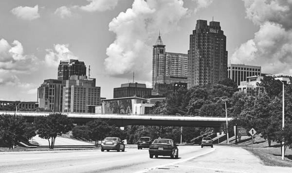 Downtown Raleigh Wall Art - Photograph - Welcome To Raleigh, North Carolina by Library Of Congress