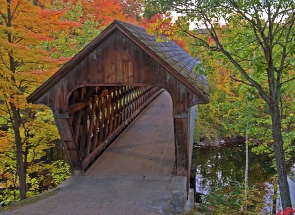 Henniker Photograph - Welcoming Autumn by Paul Mangold