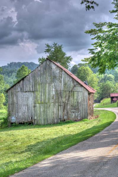 Douglas County Wall Art - Photograph - Wells Barn 13 by Douglas Barnett