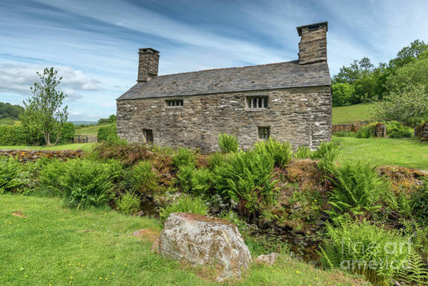 Crooked River Photograph - Welsh Cottage by Adrian Evans