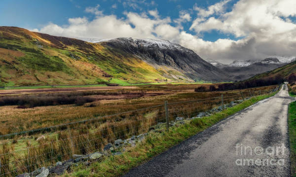 Bethesda Photograph - Welsh Valley by Adrian Evans