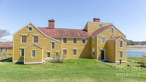 Dwelling Photograph - Wentworth-coolidge Mansion by Edward Fielding