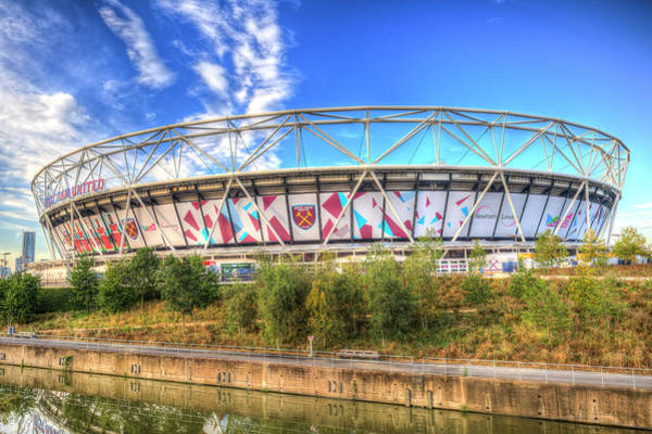 Olympic Club Photograph - West Ham Fc Stadium London by David Pyatt