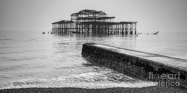 Wall Art - Photograph - West Pier At Brighton by Colin and Linda McKie