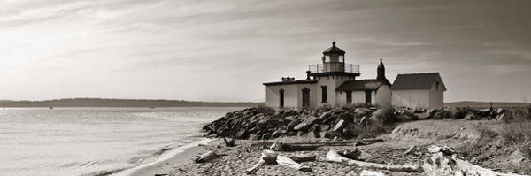 Photograph - West Point Lighthouse by Songquan Deng