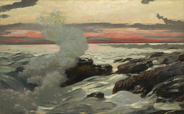 Painting - West Point Prout's Neck by Winslow Homer