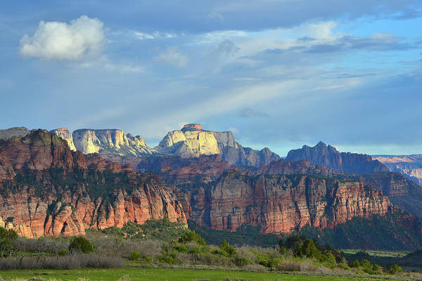 Photograph - West Temple  by Ray Mathis
