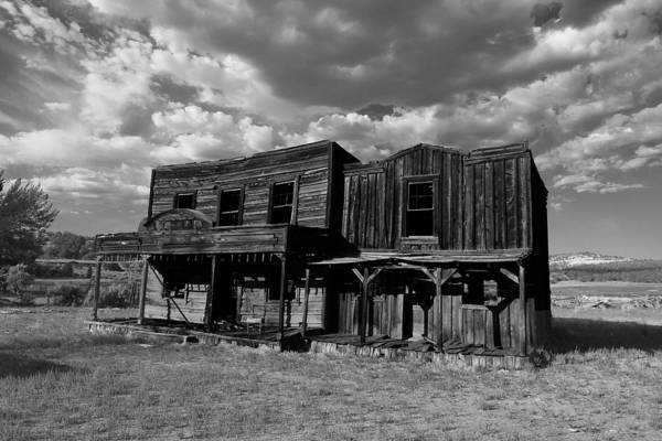 Photograph - Western Movie Set by Mark Smith