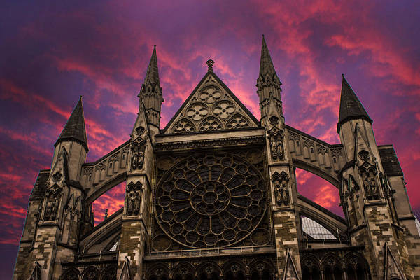 Westminster Photograph - Westminster Abbey by Martin Newman