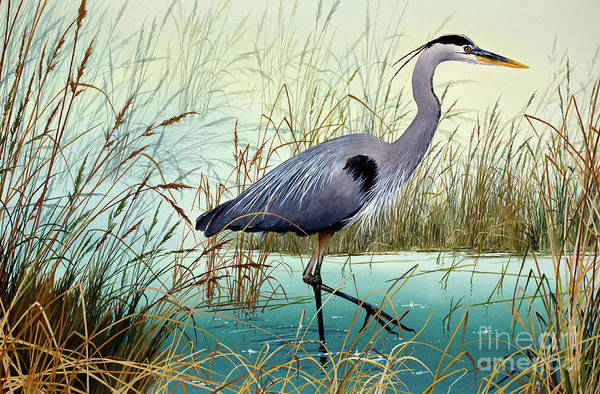 Wall Art - Painting - Wetland Beauty by James Williamson