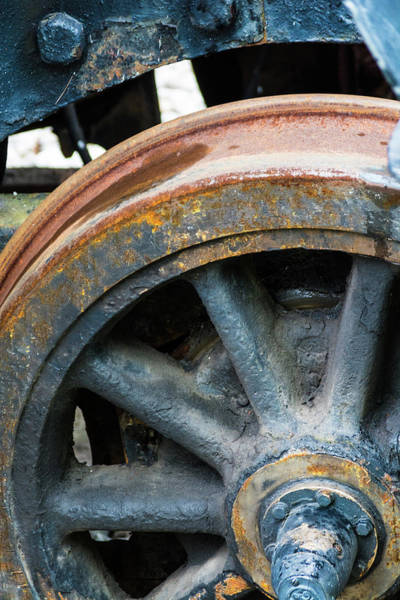 Photograph - Wheels Keep On Turning by Stewart Helberg