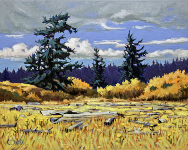Painting - Whiffin Meadow by Rob Owen