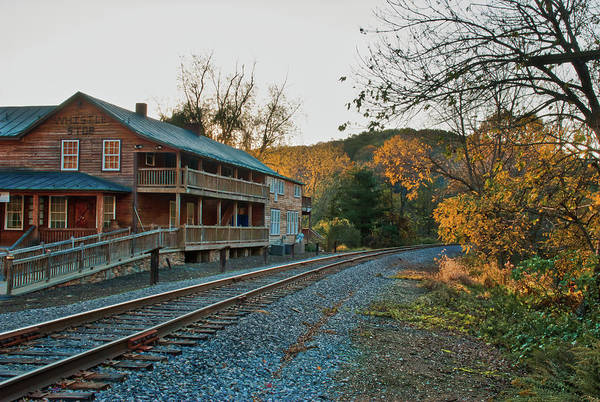 Photograph - Whistle Stop - Old Patapsco Station by Mark Dodd