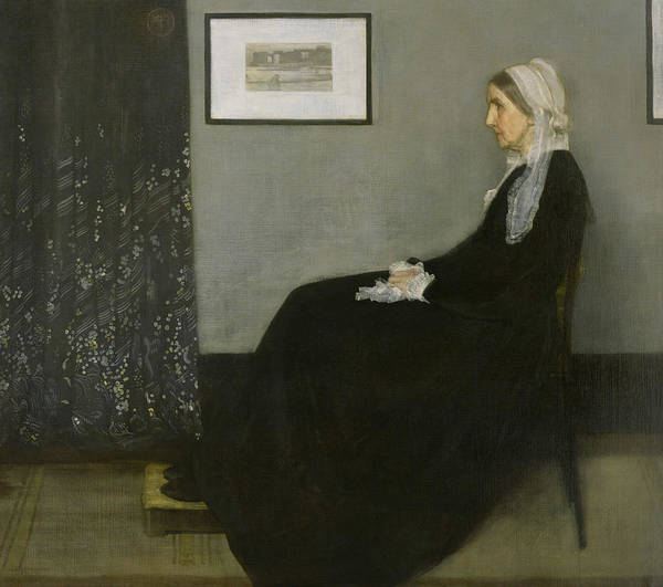 Painting - Whistler's Mother by James Abbott McNeill Whistler