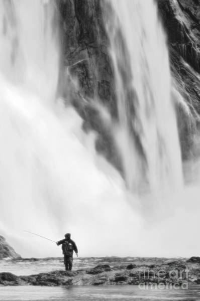 Angling Photograph - Wild Fishing by Colin Woods