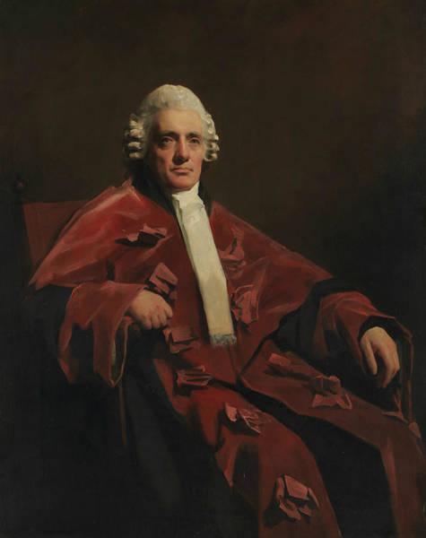 Painting - William Robertson, Lord Robertson by Henry Raeburn