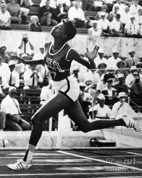 Photograph - Wilma Rudolph (1940-1994) by Granger