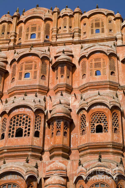 Wall Art - Photograph - Wind Palace - Jaipur by Bill Bachmann - Printscapes