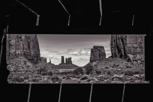 Wall Art - Photograph - Window Into Monument Valley by Eduard Moldoveanu